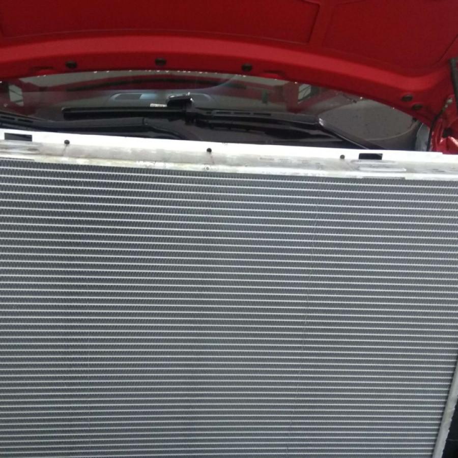 Замена радиатора двигателя